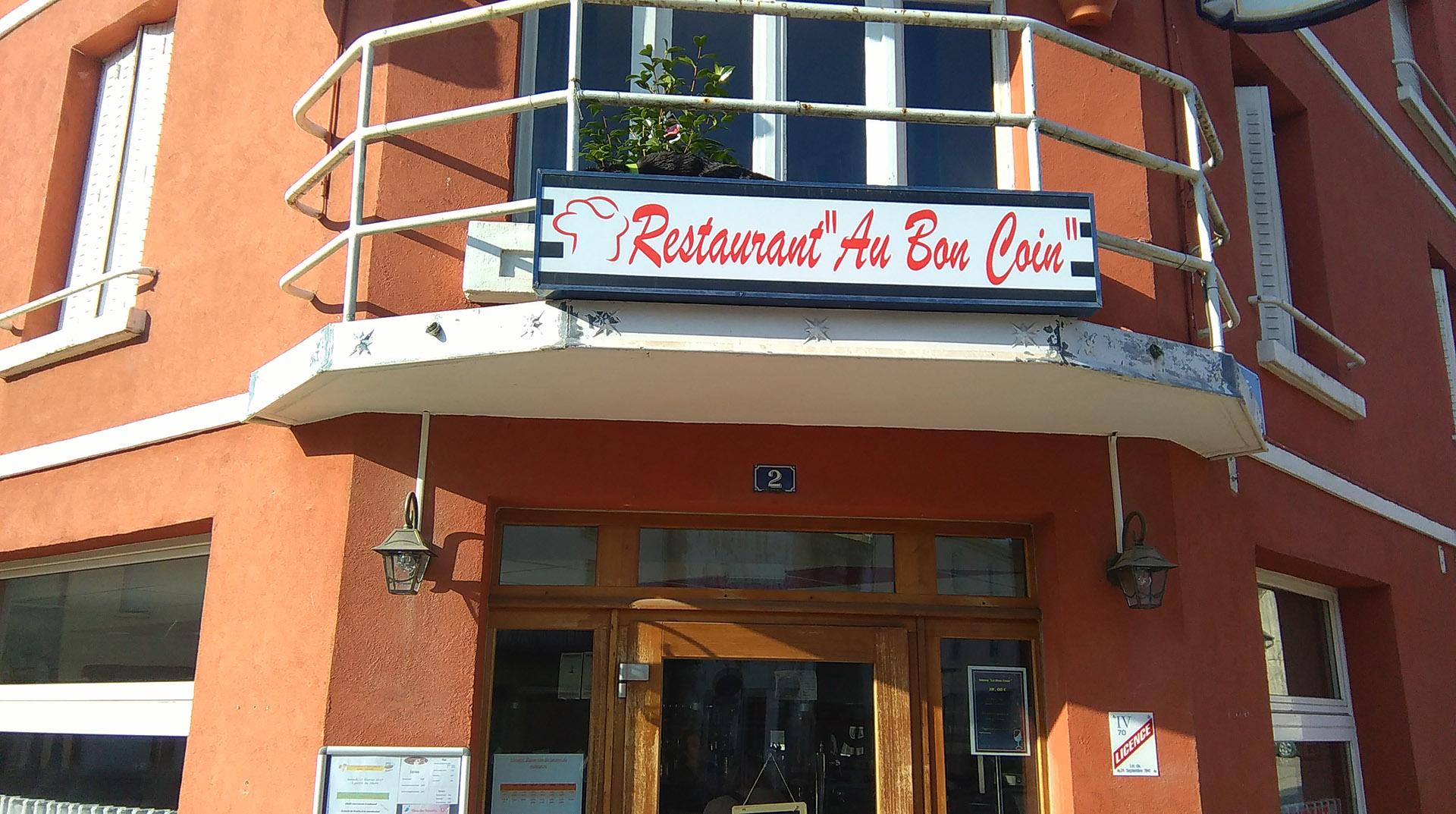 Restaurant Jussey Au Bon Coin Plât Du Jour Sur Place Ou à